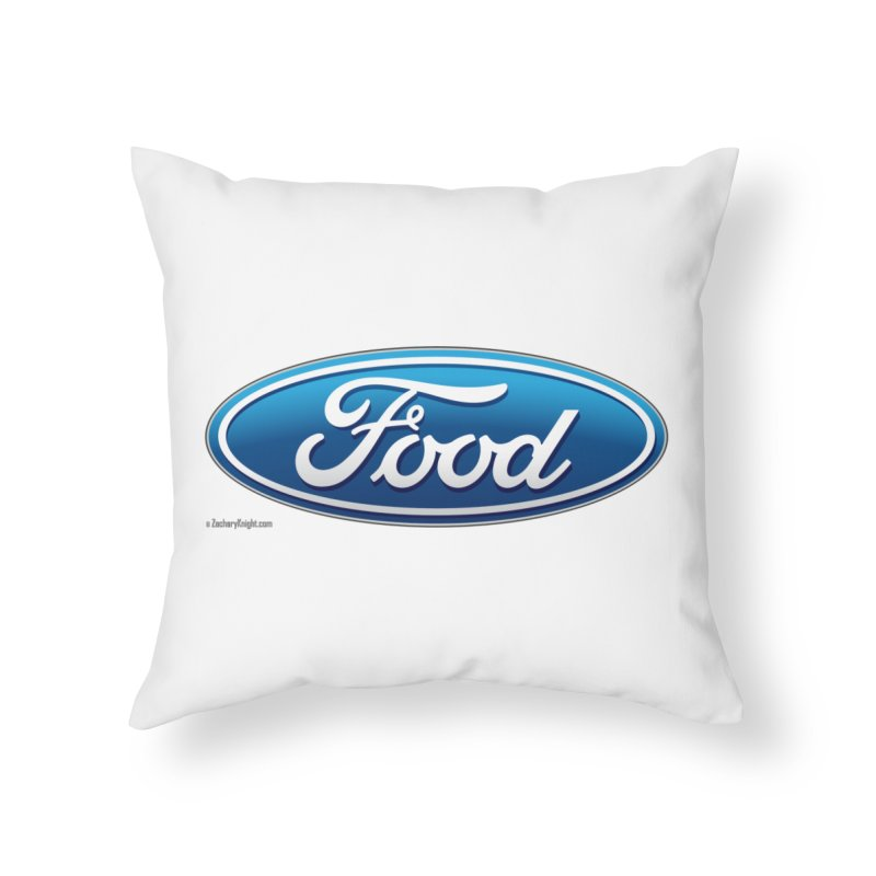 Food Home Throw Pillow by Zachary Knight | Artist Shop