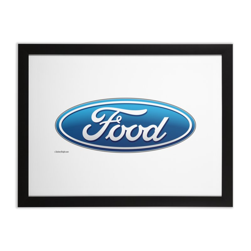 Food Home Framed Fine Art Print by Zachary Knight | Artist Shop