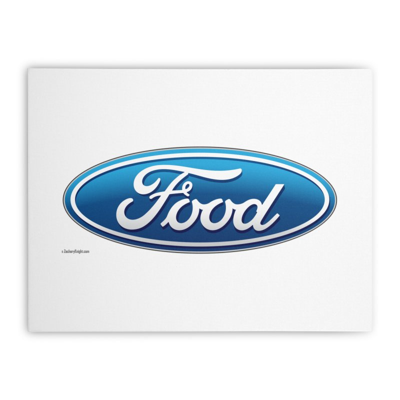 Food Home Stretched Canvas by Zachary Knight | Artist Shop
