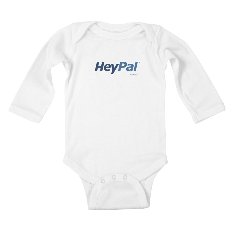HeyPal Kids Baby Longsleeve Bodysuit by Zachary Knight | Artist Shop