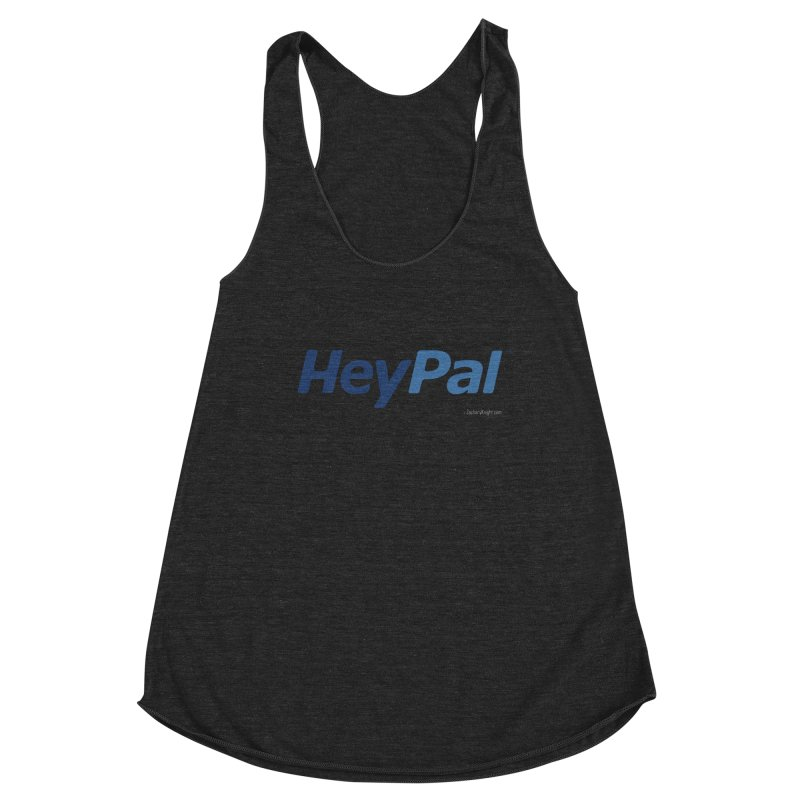 HeyPal Women's Racerback Triblend Tank by Zachary Knight | Artist Shop