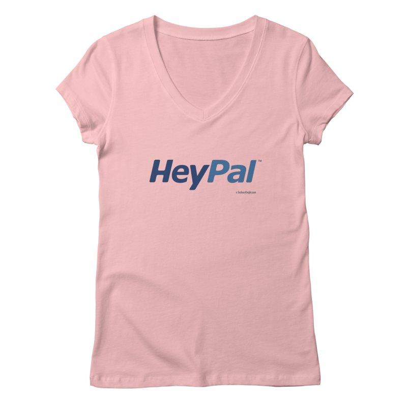 HeyPal Women's Regular V-Neck by Zachary Knight | Artist Shop