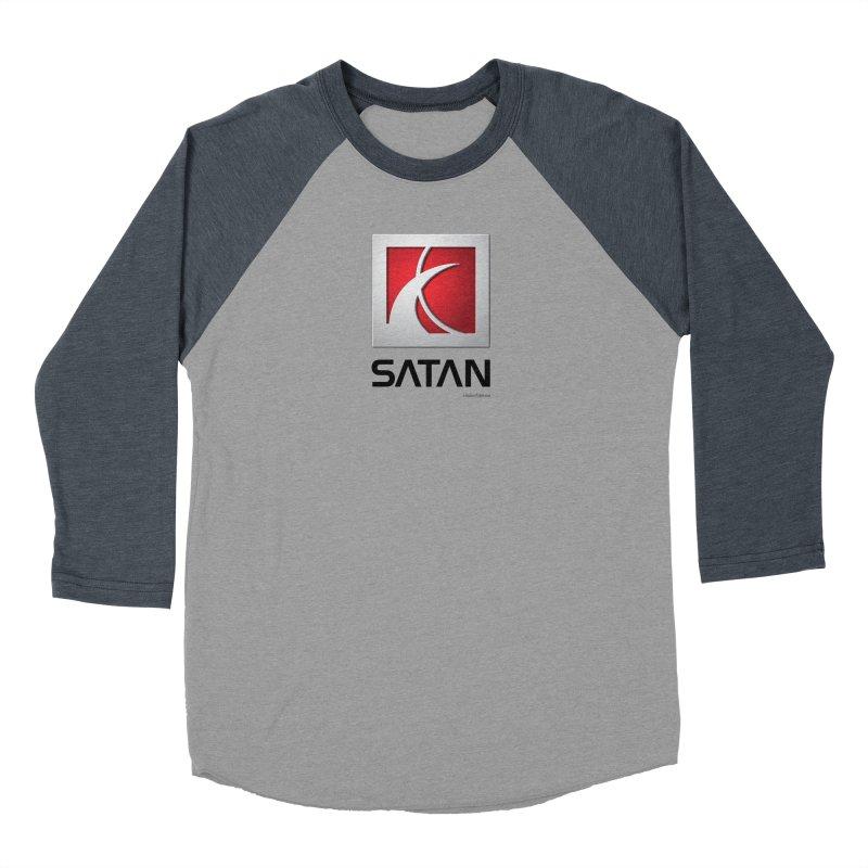 SATAN Women's Baseball Triblend Longsleeve T-Shirt by Zachary Knight | Artist Shop