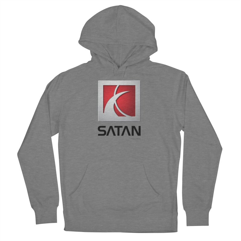 SATAN Women's French Terry Pullover Hoody by Zachary Knight | Artist Shop