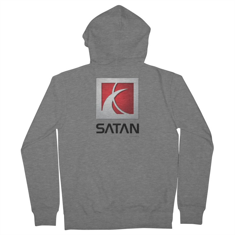SATAN Women's Zip-Up Hoody by Zachary Knight | Artist Shop