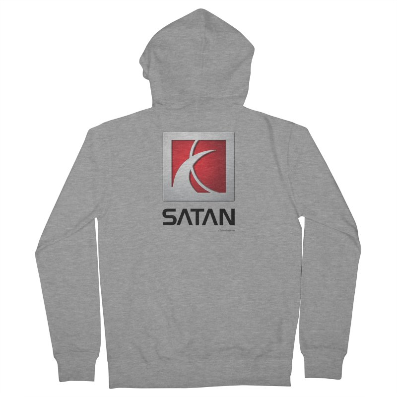 SATAN Women's French Terry Zip-Up Hoody by Zachary Knight | Artist Shop