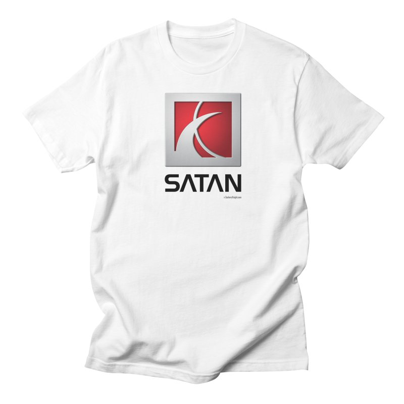 SATAN Men's T-Shirt by Zachary Knight | Artist Shop