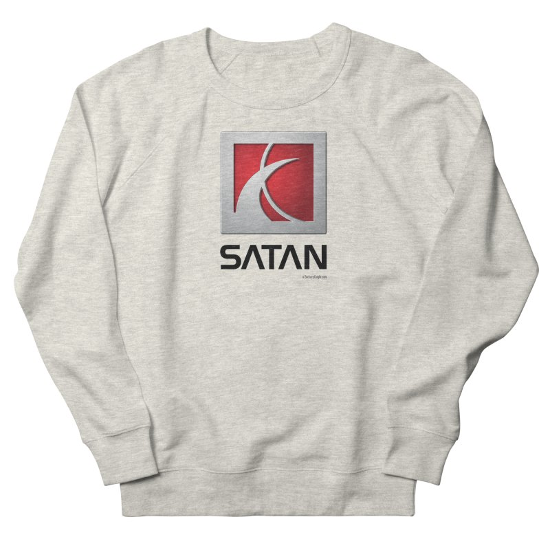 SATAN Men's French Terry Sweatshirt by Zachary Knight | Artist Shop