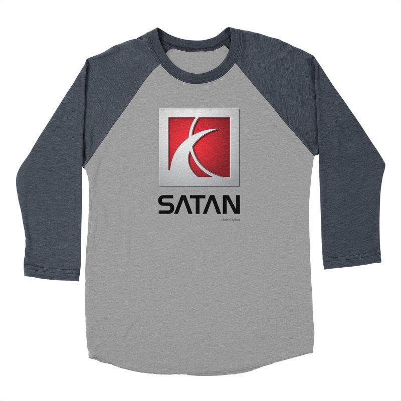 SATAN Men's Baseball Triblend T-Shirt by Zachary Knight | Artist Shop