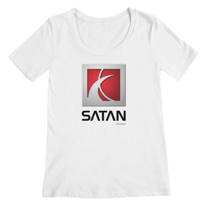 SATAN Women's Regular Scoop Neck by Zachary Knight | Artist Shop