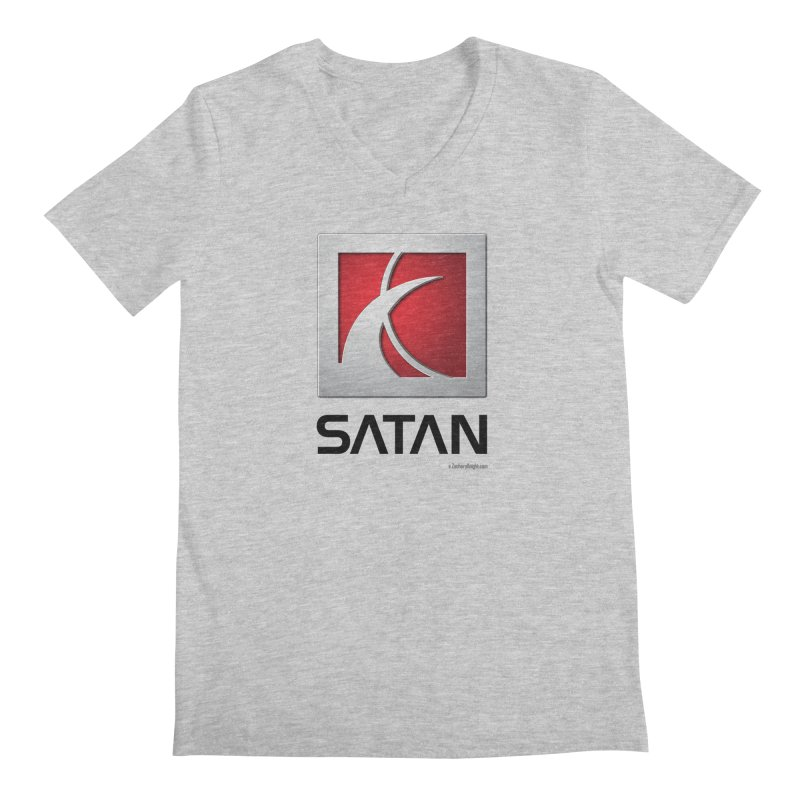 SATAN Men's V-Neck by Zachary Knight | Artist Shop