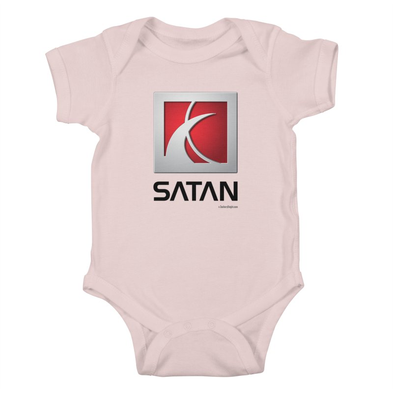 SATAN Kids Baby Bodysuit by Zachary Knight | Artist Shop