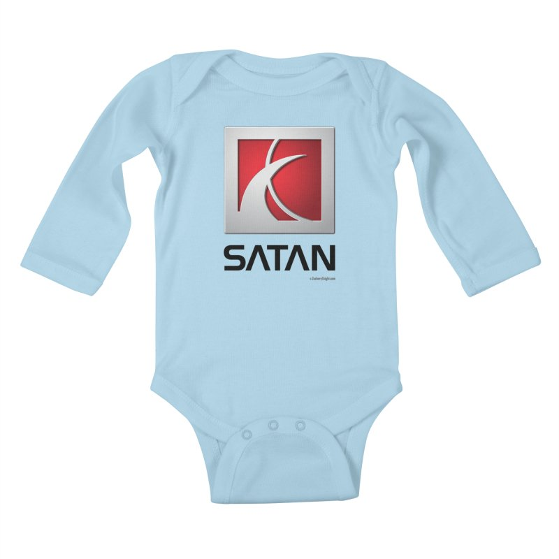 SATAN Kids Baby Longsleeve Bodysuit by Zachary Knight | Artist Shop