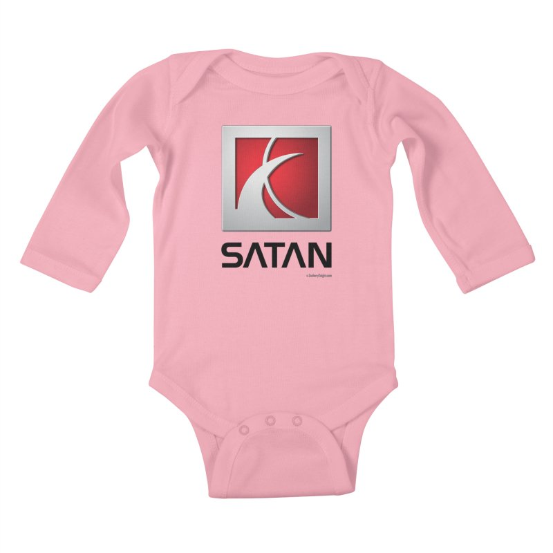 SATAN Kids Baby Longsleeve Bodysuit by Zachary Knight | Artist Shop