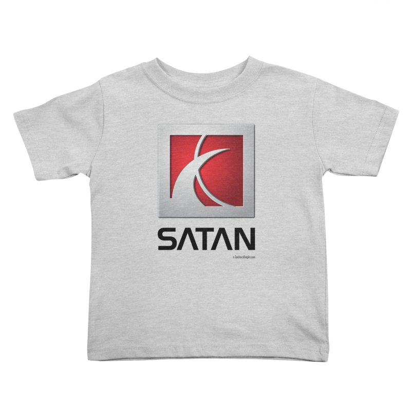 SATAN Kids Toddler T-Shirt by Zachary Knight | Artist Shop