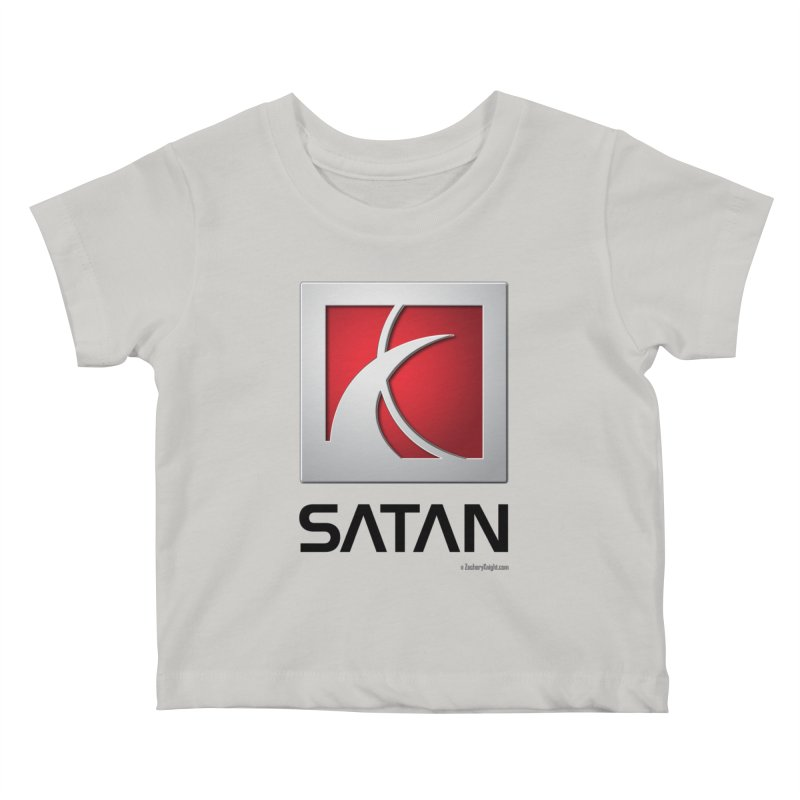 SATAN Kids Baby T-Shirt by Zachary Knight | Artist Shop