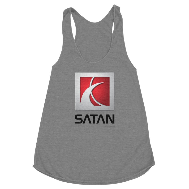 SATAN Women's Racerback Triblend Tank by Zachary Knight | Artist Shop
