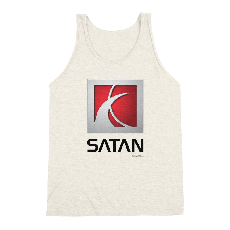 SATAN Men's Triblend Tank by Zachary Knight | Artist Shop