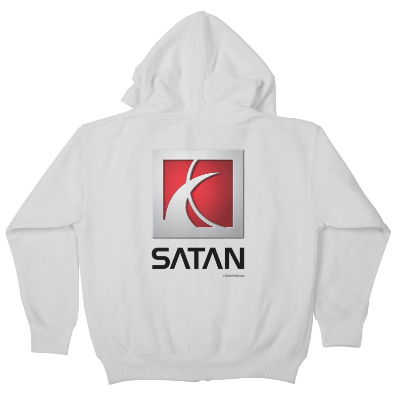 SATAN Kids Zip-Up Hoody by Zachary Knight | Artist Shop