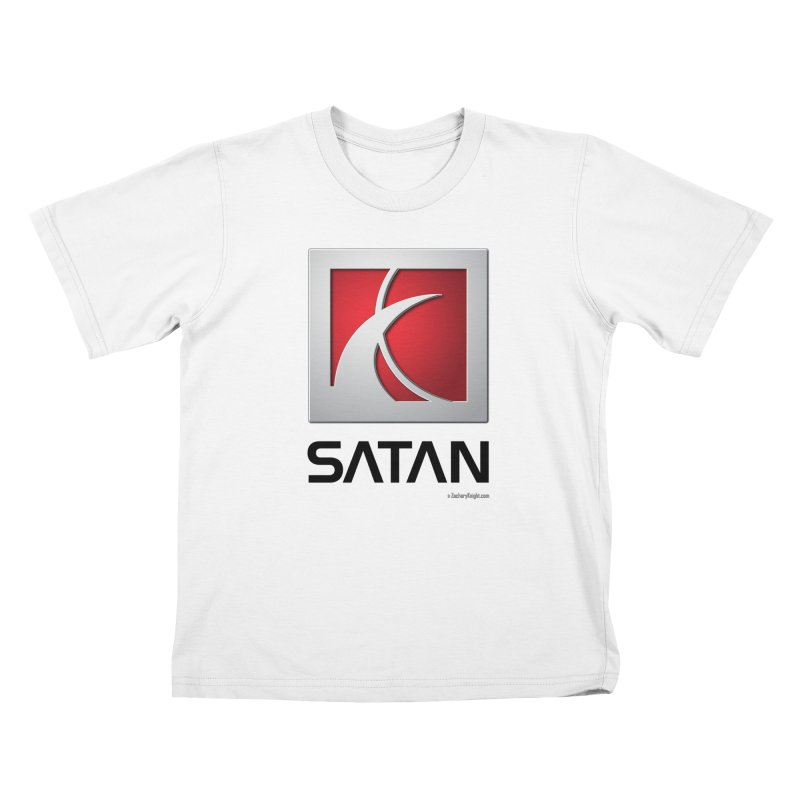 SATAN Kids T-shirt by Zachary Knight | Artist Shop