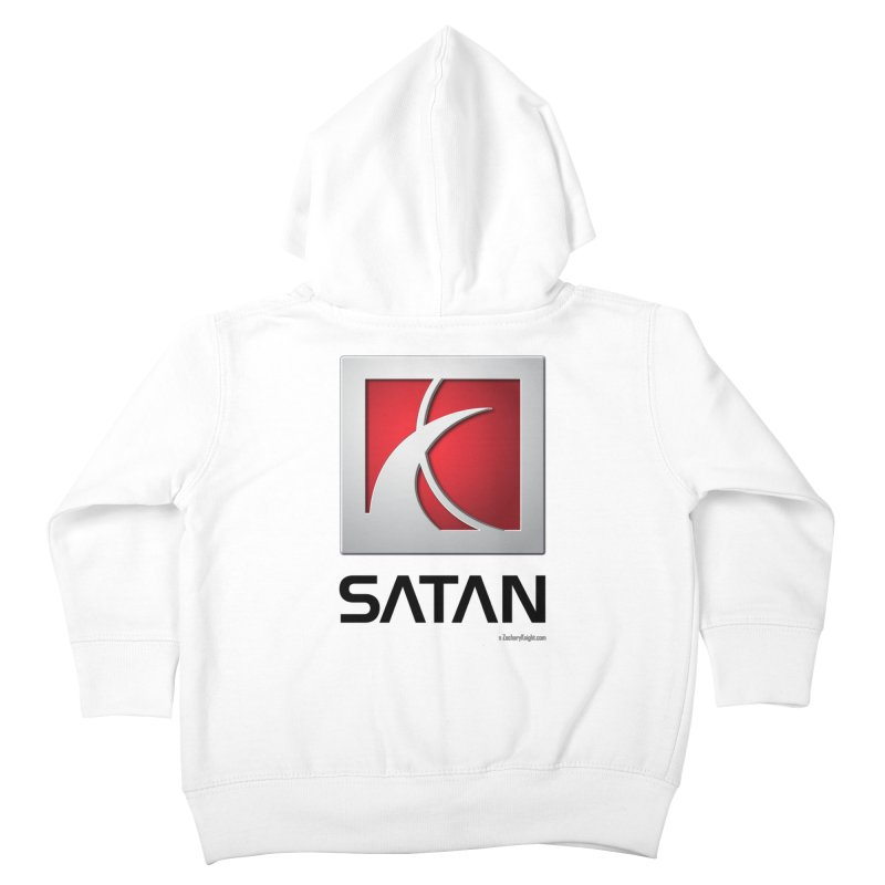 SATAN Kids Toddler Zip-Up Hoody by Zachary Knight | Artist Shop