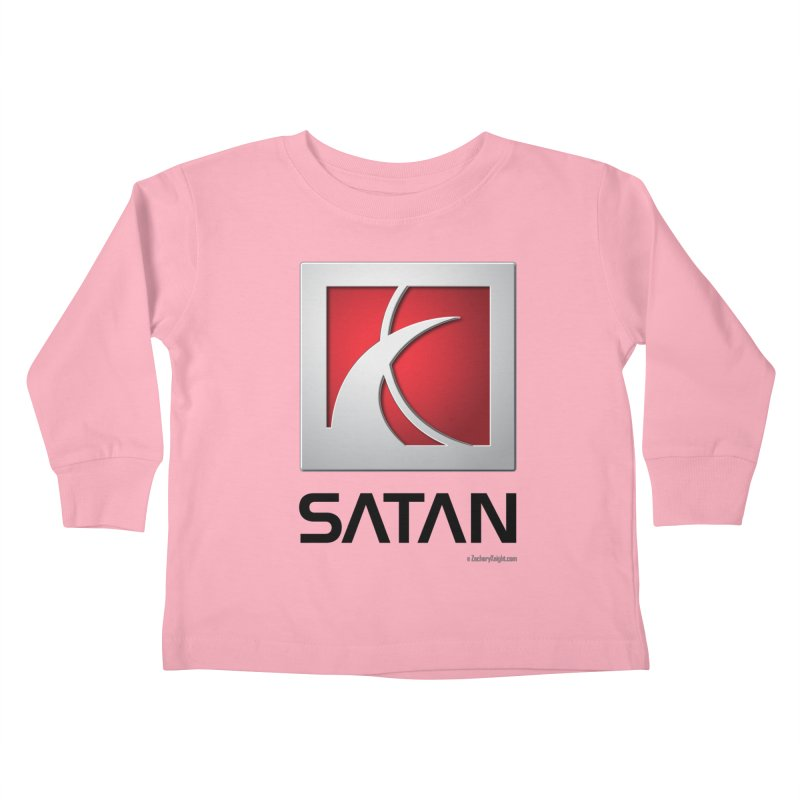 SATAN Kids Toddler Longsleeve T-Shirt by Zachary Knight | Artist Shop