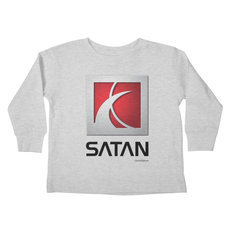 SATAN Kids Toddler Longsleeve T-Shirt by Zachary Knight | Artist Shop
