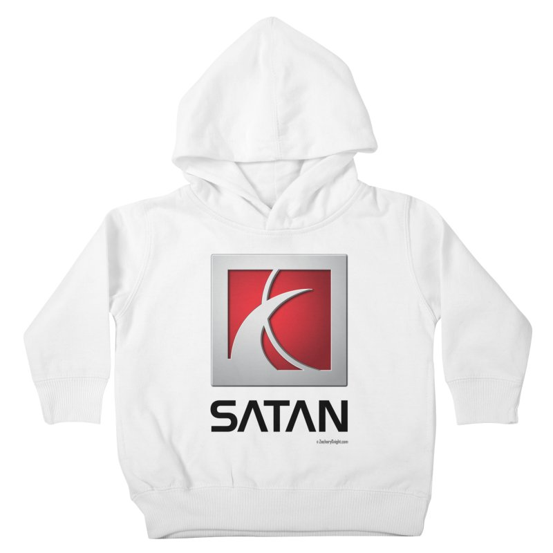 SATAN Kids Toddler Pullover Hoody by Zachary Knight | Artist Shop
