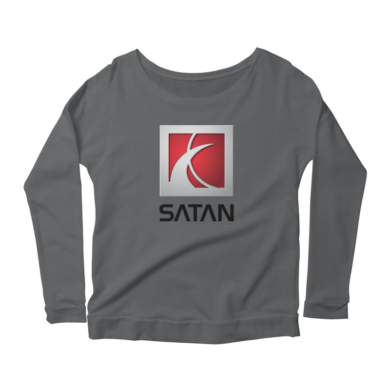 SATAN Women's Longsleeve T-Shirt by Zachary Knight | Artist Shop