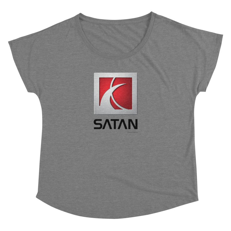 SATAN Women's Dolman Scoop Neck by Zachary Knight | Artist Shop