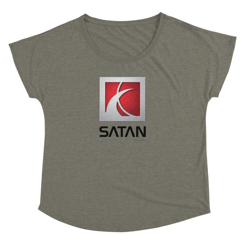 SATAN Women's Dolman Scoop Neck by Zachary Knight | Artist Shop