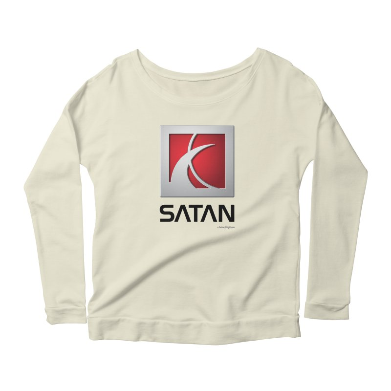 SATAN Women's Scoop Neck Longsleeve T-Shirt by Zachary Knight | Artist Shop