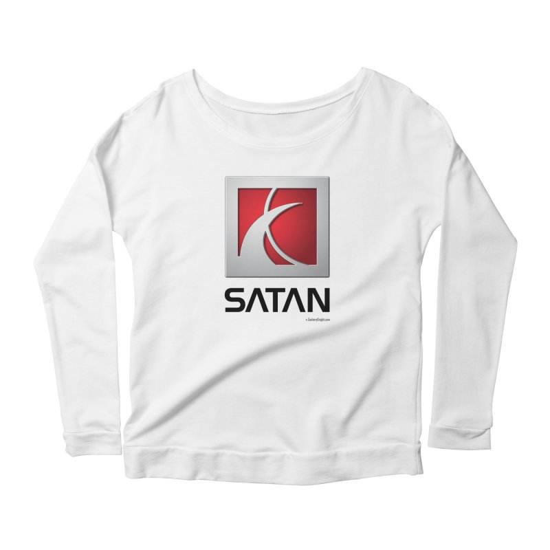 SATAN Women's Scoop Neck Longsleeve T-Shirt by Zachary Knight | Artist Shop