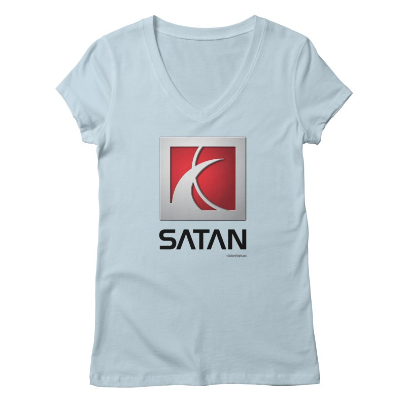 SATAN Women's V-Neck by Zachary Knight | Artist Shop