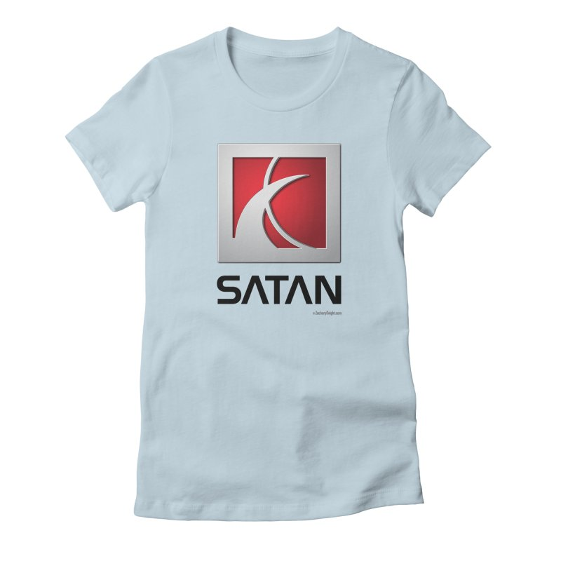 SATAN Women's T-Shirt by Zachary Knight | Artist Shop
