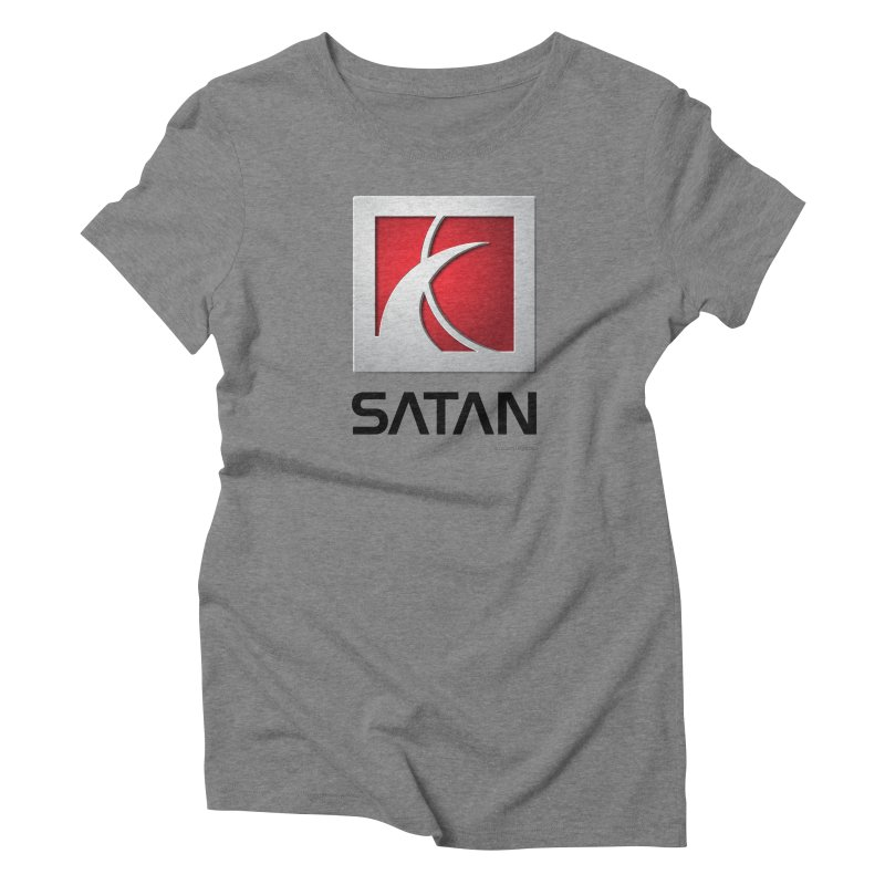 SATAN Women's Triblend T-Shirt by Zachary Knight | Artist Shop