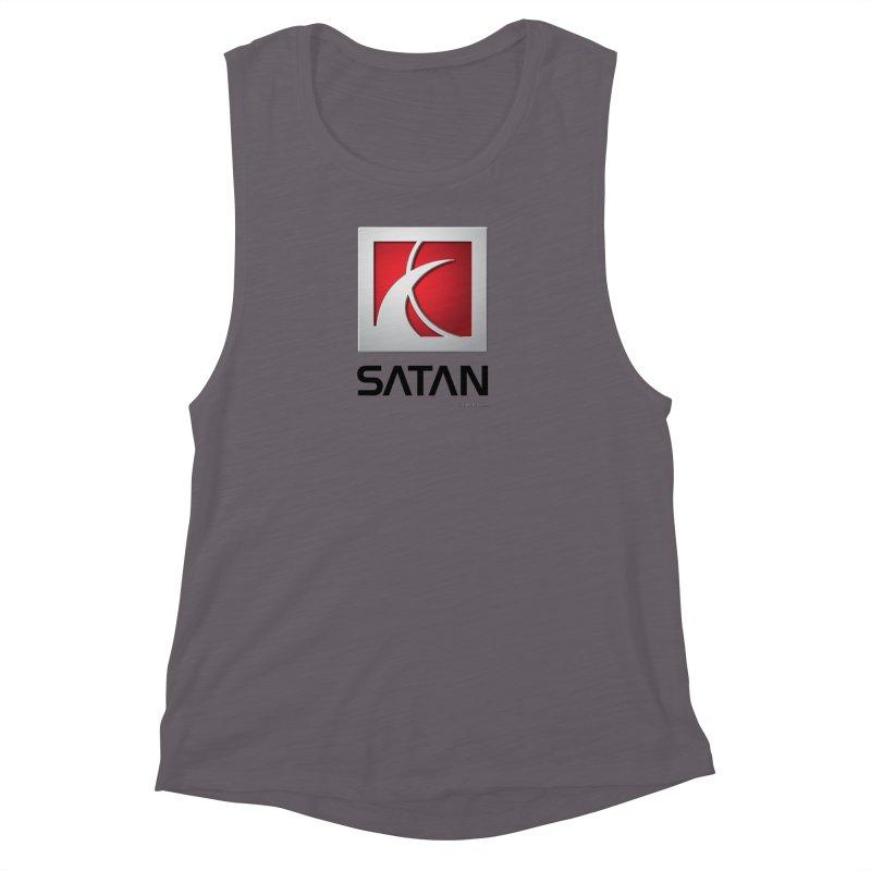 SATAN Women's Muscle Tank by Zachary Knight | Artist Shop