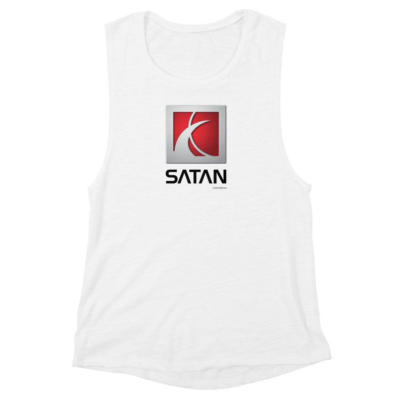 SATAN Women's Muscle Tank by Zachary Knight | Artist Shop