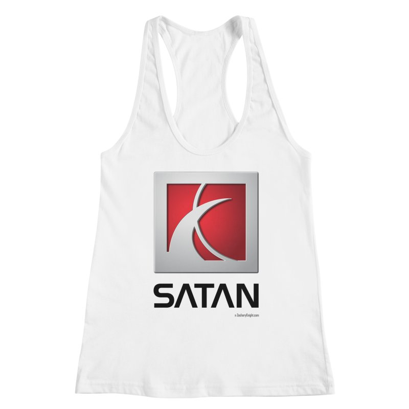 SATAN Women's Racerback Tank by Zachary Knight | Artist Shop