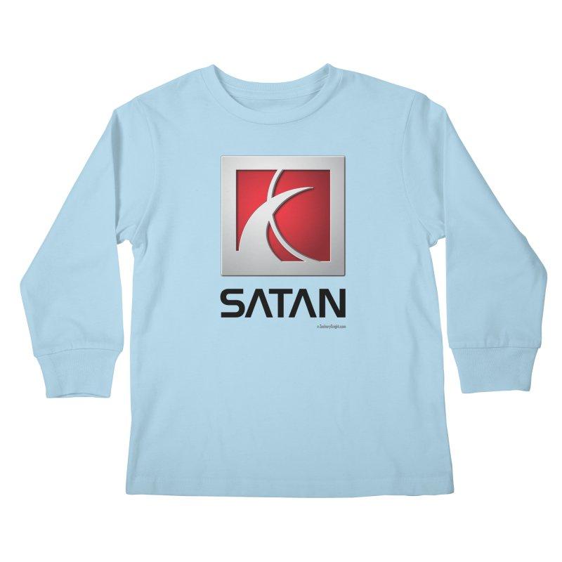 SATAN Kids Longsleeve T-Shirt by Zachary Knight | Artist Shop