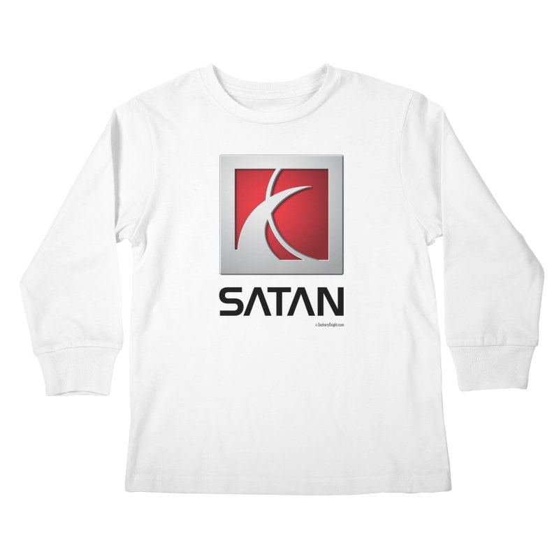 SATAN Kids Longsleeve T-Shirt by Zachary Knight | Artist Shop