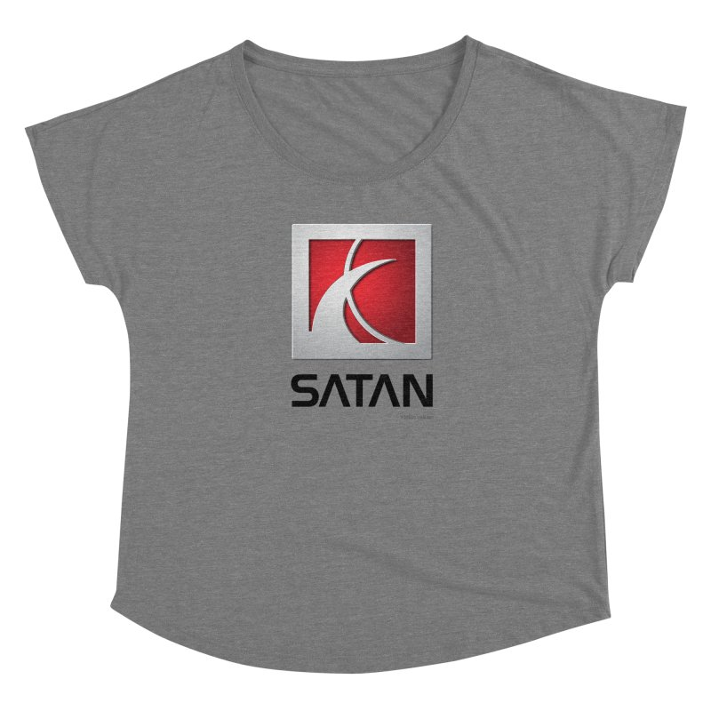 SATAN Women's Scoop Neck by Zachary Knight | Artist Shop