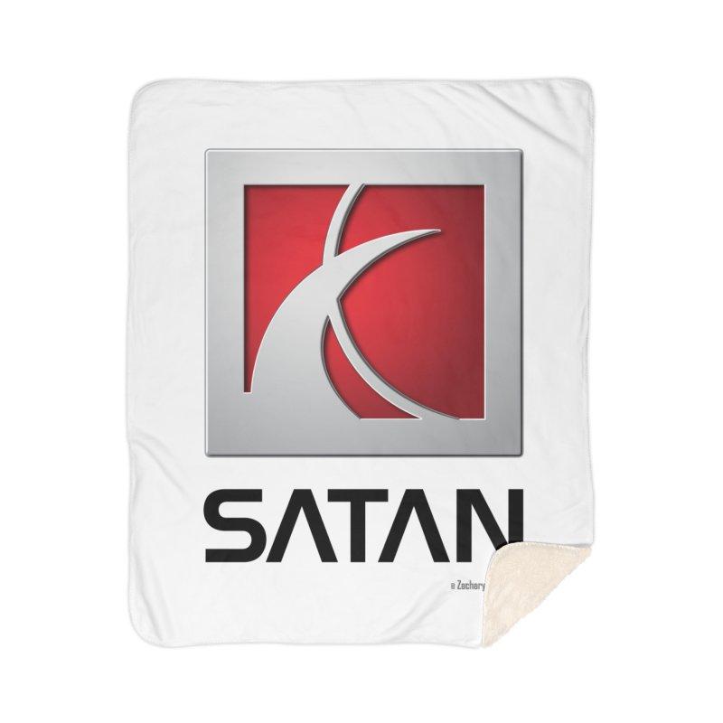 SATAN Home Blanket by Zachary Knight | Artist Shop