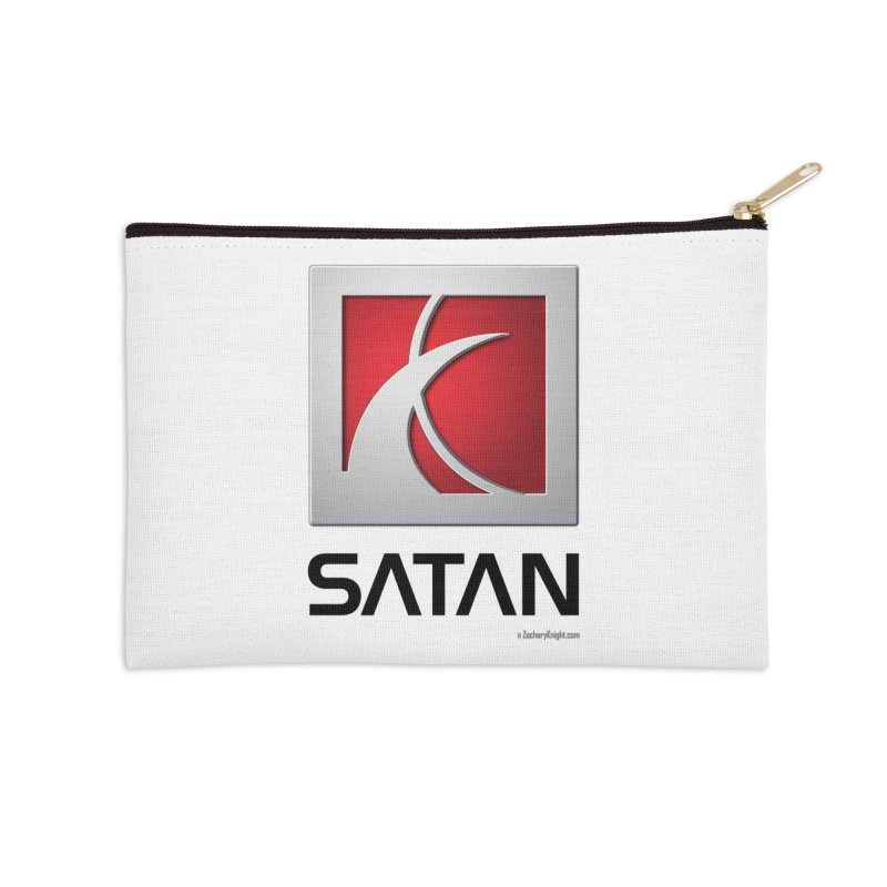 SATAN Accessories Zip Pouch by Zachary Knight | Artist Shop