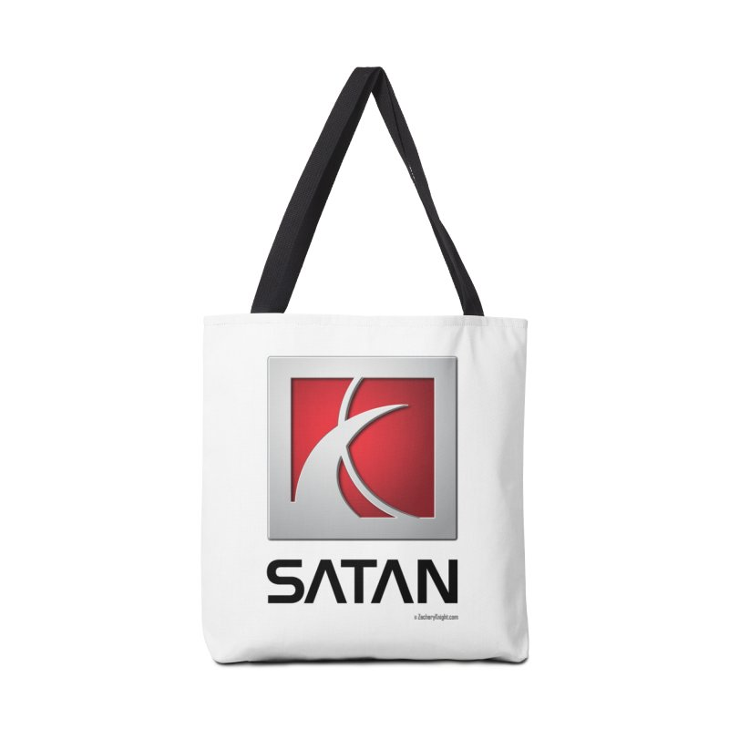 SATAN Accessories Tote Bag Bag by Zachary Knight | Artist Shop
