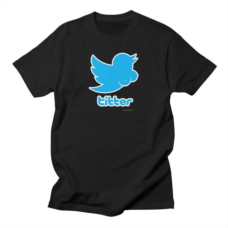 Titter Men's T-Shirt by Zachary Knight | Artist Shop