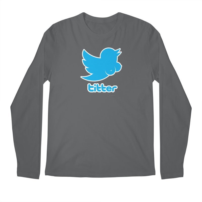 Titter Men's Regular Longsleeve T-Shirt by Zachary Knight | Artist Shop