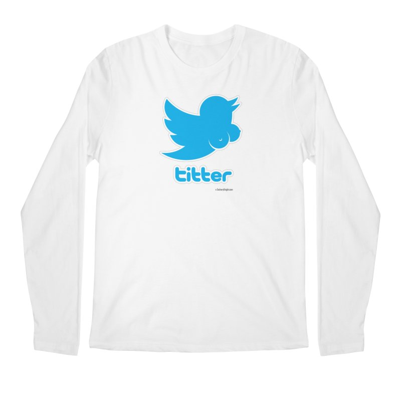 Titter Men's Longsleeve T-Shirt by Zachary Knight | Artist Shop