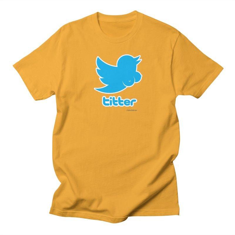 Titter Women's Regular Unisex T-Shirt by Zachary Knight | Artist Shop