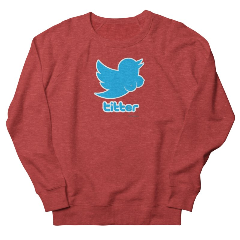 Titter Women's Sweatshirt by Zachary Knight | Artist Shop